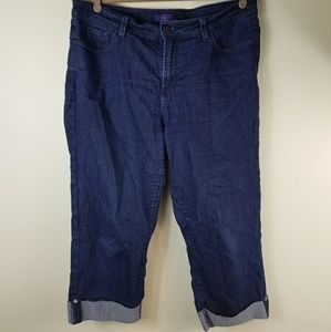 Not Your Daughters Womens NYDJ Size 12 Jeans Crop